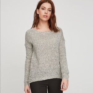 Vero Moda grey speckled sweater